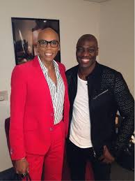 "RuPaul on Twitter: ""The amazing @Adewale Akinnuoye-Agbaje http://t ..."