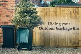 Creative Ways To Hide Your Outdoor Garbage Bin Gleam