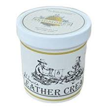skidmores leather and wood cream and