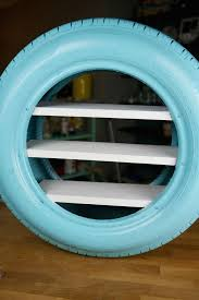 Diy Toy Shelves From A Used Tire Boy Birthday Party Ideas And Tire Furniture Toy Shelves Tyres Recycle
