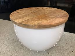 drum coffee table coffee table