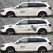 Carpet Waistline For Dodge Journey Car Door Sticker Car Sticker Car Flower Strip Car Stickers Aliexpress