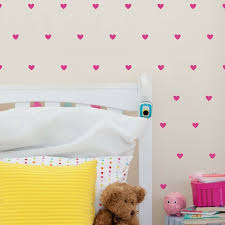 Urban Walls Mini Hearts Wall Decal Reviews Wayfair