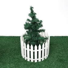 Garden Fence 12pcs Plastic Fence Decorations White Home Christmas Xmas Tree Ornaments Miniature Border Grass Lawn Garden Decor Color White Size Ones Amazon Co Uk Kitchen Home
