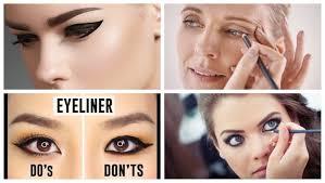 wearing eyeliner make you look older