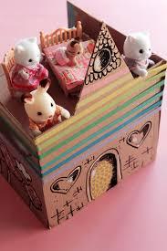 diy le château de poupée en carton