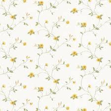norwall mini sunflower trail wallpaper