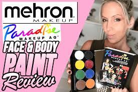 mehron makeup paradise aq face body