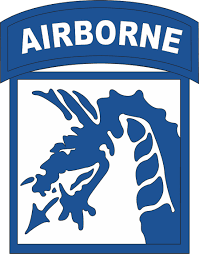 18th Airborne Corps Patch Vinyl Transfer Decal