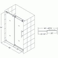 pgt sliding glass door size chart