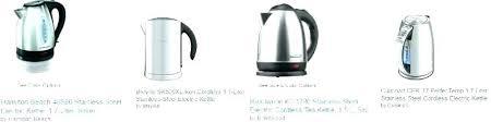 electric kettle cordless base l white