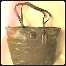 coach bags shoulder patent leather