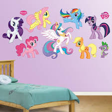 Shop Fathead My Little Pony Collection Wall Decals Overstock 9215955