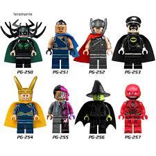 Bộ đồ chơi lắp ráp siêu anh hùng The Flash dành cho trẻ