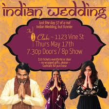 indian wedding edy show in los