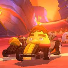 Bizarre Angry Birds Go update turns deceased driver Ayrton Senna into a big  yellow bird | Articles