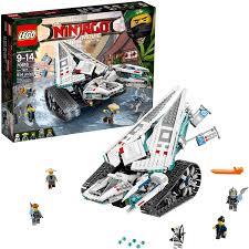 Amazon.com: LEGO Ninjago Ice Tank Building Kit, Multicolor: Toys ...