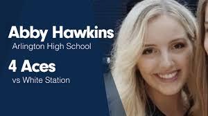 "Abby Hawkins' (Arlington, TN) Video ""4 Aces vs White Station"" | MaxPreps"
