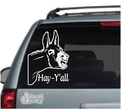 Peeking Animal Car Decals Stickers Decal Junky
