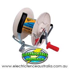 Thunderbird Large Geared Wind Up Reel Electric Fence Australia