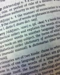 The Oxford English Dictionary just ...