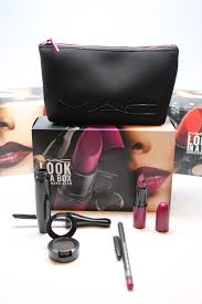 mac makeup new looks in a box for lips