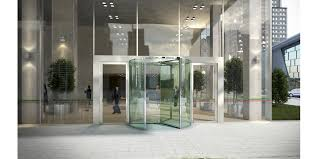 assa abloy all glass revolving doors