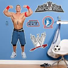 Wwe Wrestling Wall Decal Cool Stuff To Buy And Collect Wwe Birthday Wwe Party Wwe Birthday Party