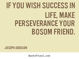 joseph addison picture quotes if you wish success in life make