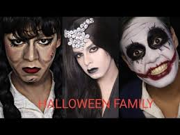 halloween family transformation
