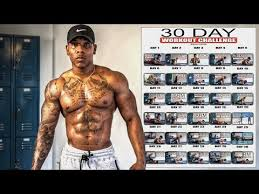 30 day at home workout challenge no