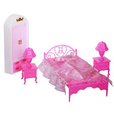 Dolls Accessories Pretend Play Furniture Set Toys Dolls As Xmas Gifts For Kids Bedroom Walmart Com Walmart Com