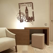 London Stamp Wall Decal Style And Apply