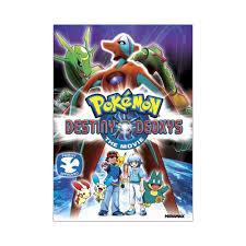 Pokemon: Destiny Deoxys The Movie (DVD) | Pokemon movies, Pokemon deoxys