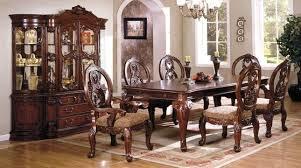 antique cherry formal dining set