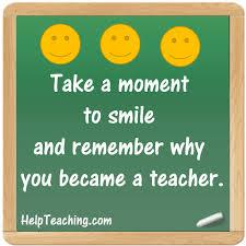 why did i become a teacher org
