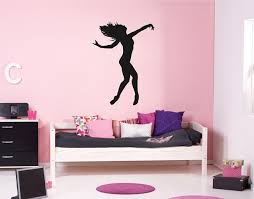 Ik2222 Wall Decal Sticker Dance Dancer Girl Living Room Bedroom Childr Stickersforlife