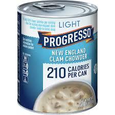 progresso soup new england clam chowder