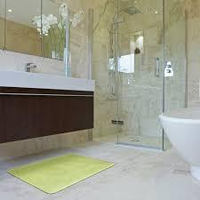 velveteen solid memory foam bath mats