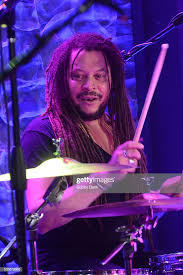 Drummer Aaron A. Brooks performs with Mark Hudson & Friends at the ...