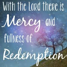 psalm mercy jesus bible redemption scripture quotes