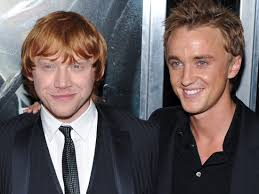 Rupert Grint and Tom Felton reunited and brought gifts to a hospital -  Insider