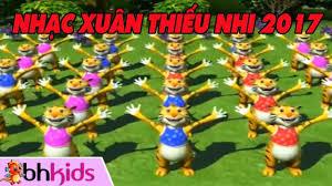 Xuân Quê Ta - Nhạc Xuân Thiếu Nhi 2017 Múa Lân Vui Nhộn (Có hình ...
