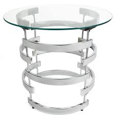 steve silver tayside round glass top