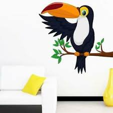 Tree With Cute Bird Wall Sticker Home Decor Decal Mural Wall Stickers Kids Room Ebay