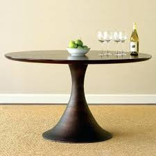 60 round glass dining table