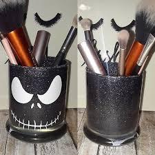 jack skellington makeup brush holder