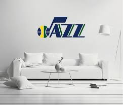 Utah Jazz Logo Wall Decal Egraphicstore