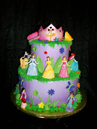Pictures On Princess Themed Birthday Cake