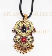 winged scarab pendant jewelry accessory